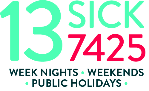 13SICK / 137425 - Week Nights, Weekends, Public Holidays